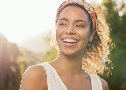 Woman following Radiesse treatments